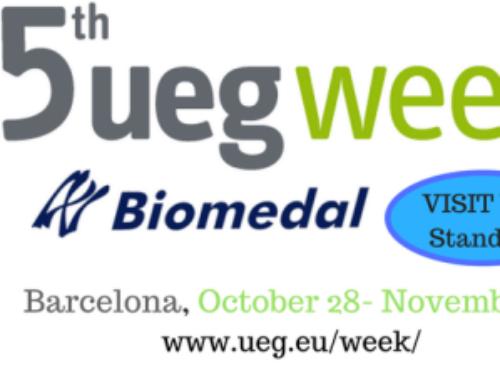 Biomedal, presente en la 25 edición de la UEG WEEK, el mayor evento de gastroenterología de Europa